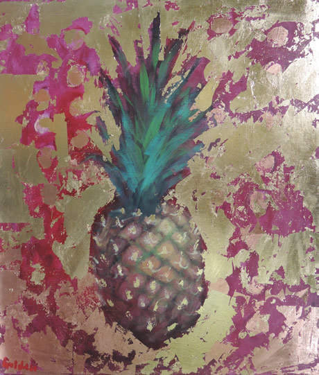 Pineapple and Gold - Lynn Golden